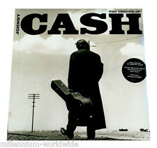 "SEALED, MINT - THE LEGEND OF JOHNNY CASH - 2X 12"" VINYL LP, GREATEST HITS RECORD"