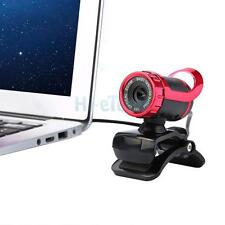USB 2.0 360°Webcam Web Camera HD 50MP with MIC Clip-on for PC Laptops US Ship