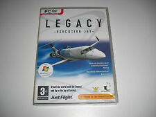 LEGACY EXECUTIVE JET Pc Add-On Flight Simulator X & 2004 FS2004 FSX NEW SEALED