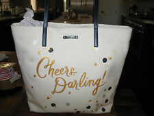 NWT Kate Spade 'Cheers Darling!' Bon Shopper Tote, Multi