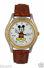 NEW Disney Lorus Mickey Mouse Moving Arms Watch HTF