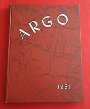 1951 Annual School YEARBOOK ARGO for WESTMINSTER COLLEGE, New Wilmington, PA