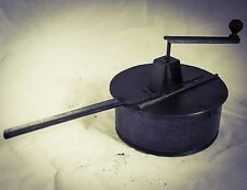 Antique COFFEE ROASTER Pan Peanut Chestnut Grilloir Cafe Tostador Kaffeeröster