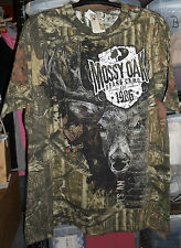 Mossy Oak Obsession Camouflage Tee Shirt L NWT