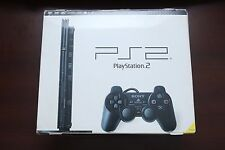 Playstation 2 Slim Black Console boxed SCPH-70000 Japan PS2 System US Seller