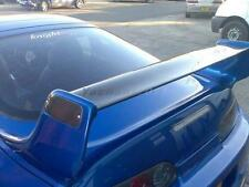 Carbon Wing Blade w FRP Stands Fit For 93-98 TOYOTA Supra MK4 TRD Rear Spoiler