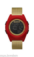 Reebok DI-R Block Party Red Rush & Gold Watch RC-DBP-G9-PRS2-R2