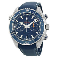 Omega Planet Ocean Chronograph Automatic Blue Dial Mens Watch 23292465103001