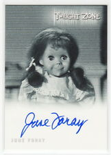 Complete Twilight Zone 50 June Foray Autograph Card A-105 Talky Tina Living Doll