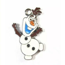 Lot of 20 pcs new Dance Olaf Snowman design Metal Charms DIY Jewellery Pendants