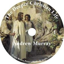 Deeper Christian Life Andrew Murray Audiobook English Unabridged on 1 MP3 CD