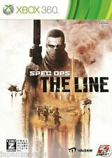 Used Xbox 360 Spec Ops: The Line MICROSOFT  JAPAN JAPANESE JAPONAIS IMPORT