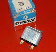 NOS MOPAR 1964-1970 Plymouth Dodge Chrysler horn relay 2822461 GTX Charger 300