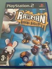 RAYMAN RAVING RABBIDS PLAYSTATION 2 PS2 GAME COMPLETE AND IN VERY GOOD CONDITION