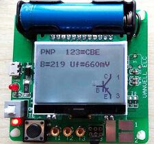 Mega328 Transistor Tester Diode Triode inductor Capacitance ESR Meter LCR LED 1x