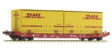 Mehano H0 58863 Containertragwagen Typ Sgkkms 689 mit Jumbo Wechselprits NEU OVP