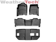 WeatherTec​h FloorLiner - GMC Yukon XL w/ Bench Seats - Full Set-2007-2010-Black