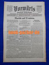 VORWÄRTS (21. November 1916): Marsch auf Craiova
