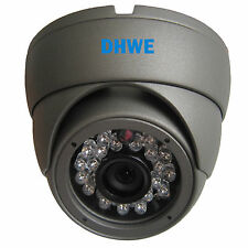 CCTV CCD 700TVL OSD High Resolution 20M IR Vandalproof Dome Camera