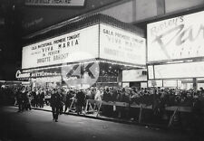 VIVA MARIA US Premiere BRIGITTE BARDOT Neon Sign Movie Theatre Cinéma Photo 1965