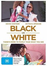 Black Or White (DVD, 2015), Brand new and sealed, free shipping