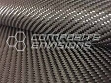 """Carbon Fiber Cloth Fabric 2x2 Twill 24"""" 12k 19.7oz"""