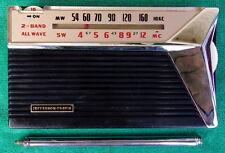 Very Rare Vintage Jefferson Travis JT-G104 AM SW 7 Transistor Portable Radio