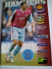 westham united v portsmouth premiership 18/3/2006