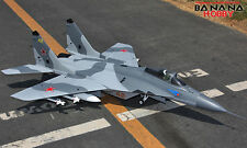 LX BlitzRCWorks MIG-29 twin 70mm grey camo jet RC EDF MIG29 - KIT version