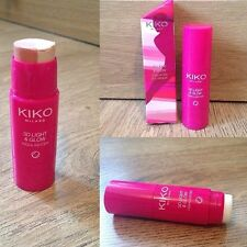 KIKO THE BEAUTY GAMES 3D LIGHT & GLOW Trio stick highlighter - 01 CONQUER CORAL