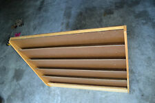Vtg Library Literature Magazine COMIC BOOKS Wood store Information Display Rack