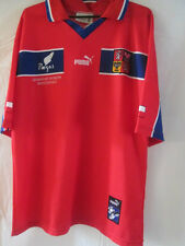 Czech Republic 1998-2000 Home Football Shirt Size Large /7940