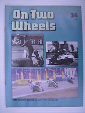 On Two Wheels -  Motorcycle Magazine Volume 3 - Issue No.34 - **FREE POSTAGE**