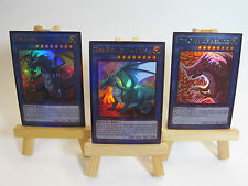 ~PROXY~ Orica Custom Legendary Dragons 3 Cards Ultra Rare Timaeus Critias Hermos