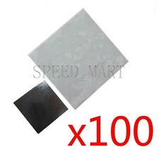 100pcs 25x25mm Double Side Square Thermal Adhesive Tape Pads for Heat Sink