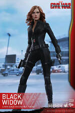 1/6 Captain America: Civil War Black Widow Movie Masterpiece Hot Toys 902716