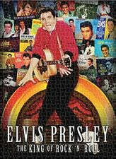 Jigsaw puzzle Entertainment Music Elvis Presley Album Covers 1000 piece NEW