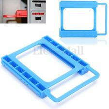 """2.5"""" to 3.5"""" SSD HDD Screw-less Mounting Adapter Bracket PC Hard Drive Holder"""