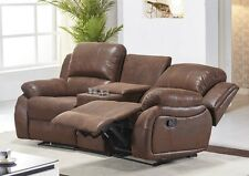Mikrofaser Sofa Kinosofa Relaxcouch Fernsehsofa Recliner 5129-Cup-2-VF03