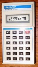 Sharp Elsi Mate EL-323 Electronic Calculator Japan New Opened Package No Box