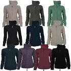 BENCH Funnel Neck Damen Frauen Fleecejacke Freizeitjacke Jacke Fleece XS-XL