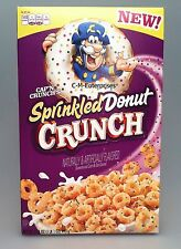 Cap'n Crunch Blueberry Pancake Crunch Cereal Captain Crunch Quaker 11.4 oz