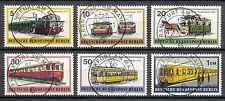 Berlin 379 - 385 gebruikt motief vervoer / treinen