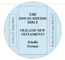"Kindle Edition ""The Douay Rheims Bible"" Old and New Testaments On CD"