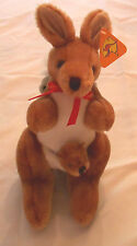 Kangaroo with Baby in the Sac & Koala Bear on the back Brand New  from display