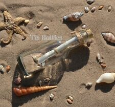 Across the Miles Gift PERSONALISED Traditional Message In a Bottle Travelling