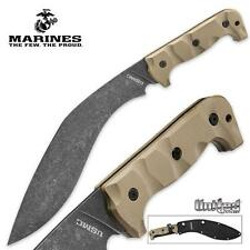 USMC Desert Sand Kukri Machete w/ Sheath by United Cutlery UC3145 *NEW*