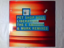 "PET SHOP BOYS Liberation 2x12"" UK JAM & SPOON"