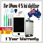 iPhone 4S LCD replacement touch screen digitizer display assembly oem white AU
