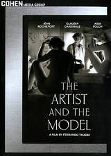 THE ARTIST AND THE MODEL CLAUDIA CARDINALE AIDA FOLCH FRENCH LANGUAGE  DVD